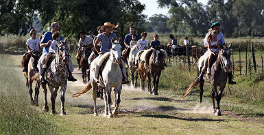 Estancia Ombu de Areco - Balade à cheval