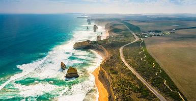Australie - Les douze apôtres, Victoria
