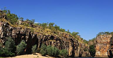 Katherine Gorge dans le Parc national Nitmiluk - Australie