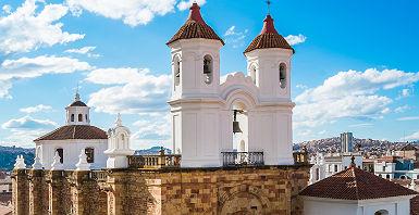 Monastère à Sucre - Bolivie