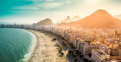Copacabana à Rio de Janeiro - Brésil