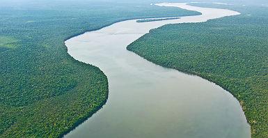 Fleuve Amazone - Brésil