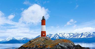 Argentine - Le Phare du Bout du monde (des éclaireurs) à Ushuaïa