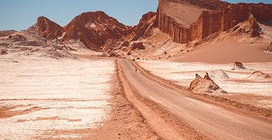 Vallée de la lune dans le désert d'Atacama - Chili