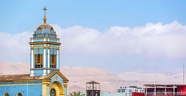 Eglise à Iquique - Chili