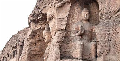 Grottes de Yungang dans la province de Shanxi - Chine