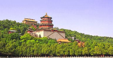 Palais d'été à Pékin - Chine