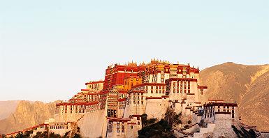 Palais du Potala à Lhassa au Tibet