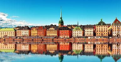 Gamla Stan, la vieille ville de Stockholm - Suède