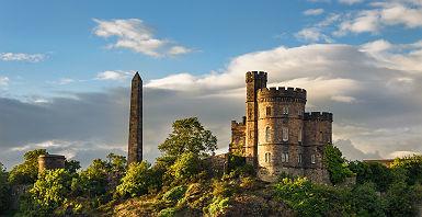 Le château d'Edimbourg - Ecosse