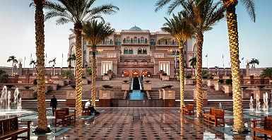 Emirates Palace à Abu Dhabi - Emirats Arabes Unies