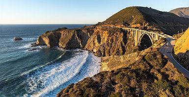 La côte de Big Sur en Californie - Etats Unis
