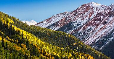 Colorado - Vue sur la montagne à Telluride