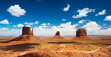 Monument Valley en Arizona - Etats Unis