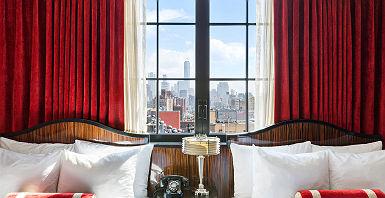 Walker Hotel Greenwich Village - Chambre Double avec vue sur la ville de New York