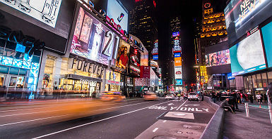 New York de nuit - Etats-Unis