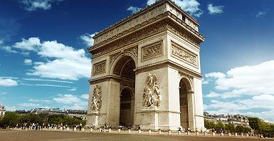 L'Arc de Triomphe à Paris - France