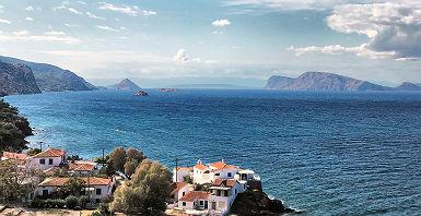 Paysage d'Hydra,Grèce