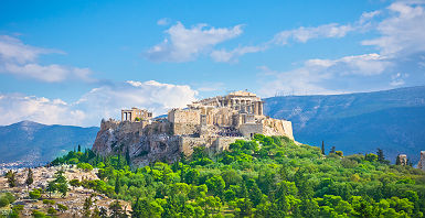 L'Acropole à Athènes - Grèce