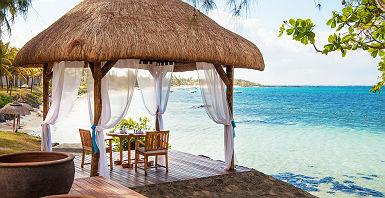 Hôtel Solana Beach - Espace terrasse traditionnelle avec vue sur la mer