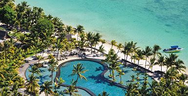 Hôtel Trou aux Biches Resort & Spa - Vue panoramique sur l'espace piscine