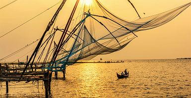 Pêche à Cochin - Inde