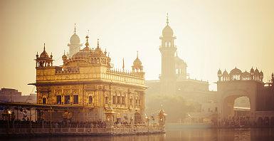 Le temple d'or à Amritsar - Inde