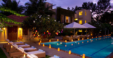 Shreyas Resort, Piscine