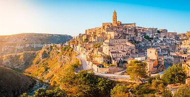 Sassi Di Matera - Pouilles, Italie
