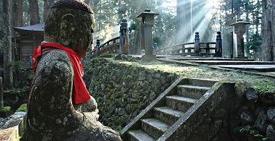 Cimetière de Okuno-in au mont Kôya - Japon