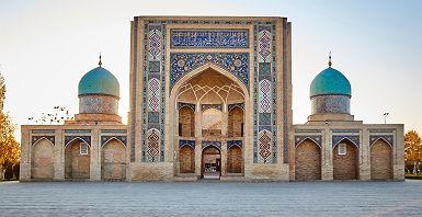 Ouzbékistan - Vue sur la place Hast Iman à Tashkent