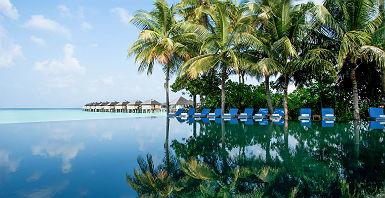 Resort Sun Siyam Iru Fushi - Espace piscine