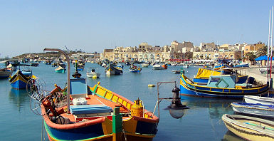 Bateaux à Malte