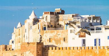 La ville d'Essaouira au Maroc