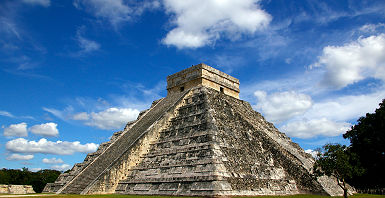 Le site de Chichen Itza au Mexique
