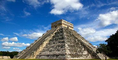 Le site de Chichen Itza au Mexique