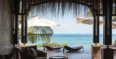 Anantara Bazaruto Island Resort - Espace spa extérieur