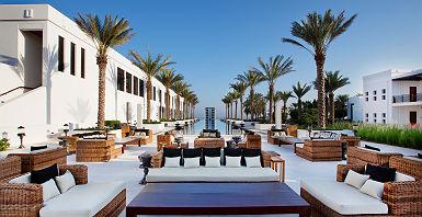 Hôtel The Chedi Muscat- Espace piscine