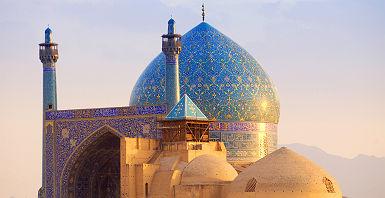Asie Centrale - Vue sur la mosquée Shah