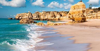 Algarve - Falaises et plage Camilo, Lagos