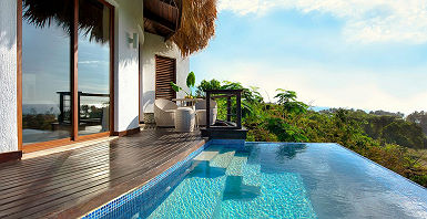 Casa Bonita Tropical Lodge - Espace piscine extérieure