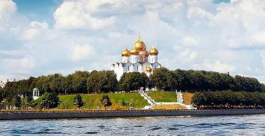 Cathedrale de l'Assomption de Yaroslav, Russie