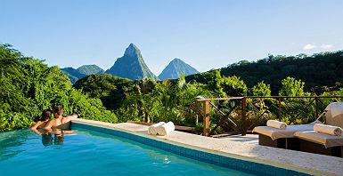 Anse Chastanet - Sainte Lucie - Antilles