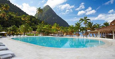 Sugar Beach - Sainte Lucie - Caraîbes - Antilles