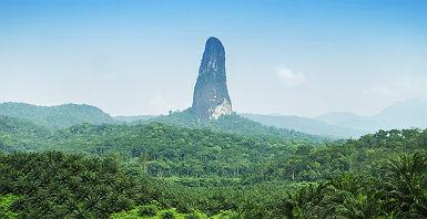 Pico Cão Grande à Sao Tome et Principe