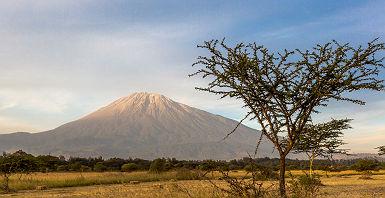 Le mont Méru à Arusha - Tanzanie
