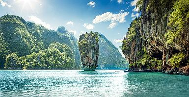 James Bond Island dans la Baie de Phang Nga - Thaïlande
