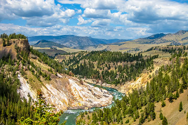 "/images/naga/Parc National de Yellowstone - Cascade ""Lower Falls"""